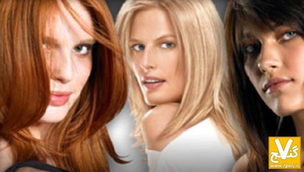 فرمول زغال برای مو آموزش فرمول ترکیب رنگ موهای پرطرفدار - هفت گنج