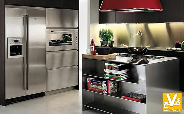 آشپزخانه استیل - 7ganj.ir