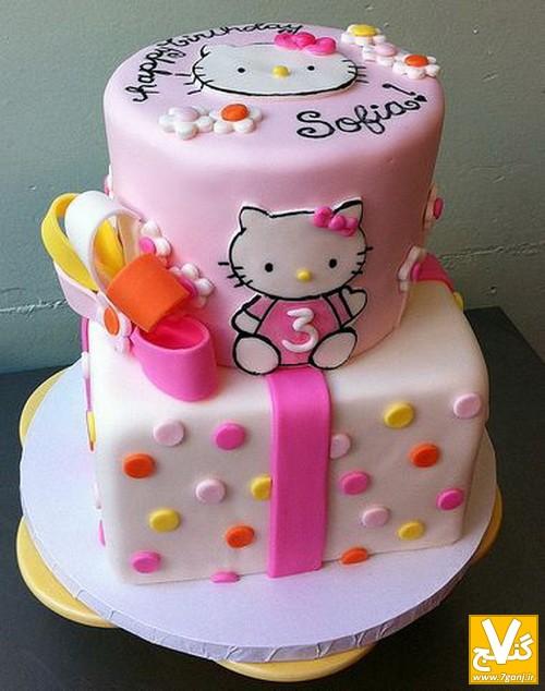 کیک تولد کودک دختر