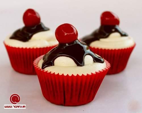 تزیین کاپ کیک