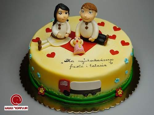 عکس+کیک+بارداری