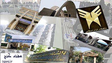 دانشگاه هاي ايران