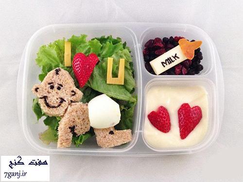 ایده های بسیار زیبای تزیین غذای کودک / سری ۲