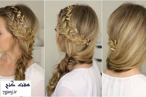 آموزش ۳ مدل موی بسیار شیک و زیبا مناسب برای مهمانی ها