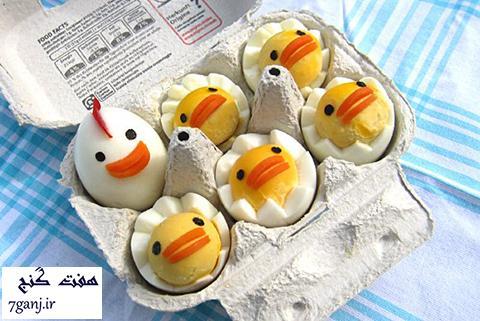 ۸ روش خوشمزه و عالی برای درست کردن تخم مرغ