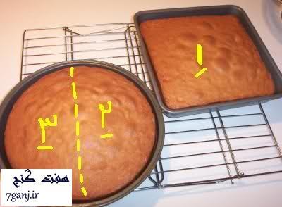 طرز درست کیک قلب برجسته kdramastars