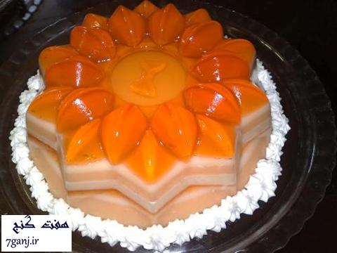 طرز تهیه کرم ژله پرتقال ، یک دسر بسیار شیک و خوشمزه