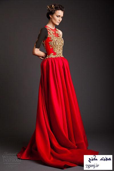 شیک ترین مدل های لباس شب و پیراهن مجلسی ۲۰۱۵ / سری ۱۳