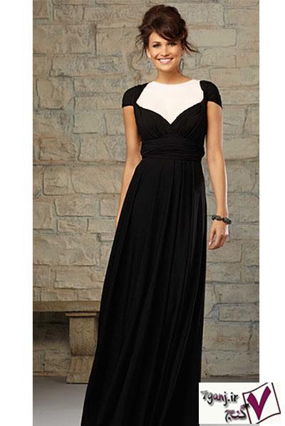 شیک ترین مدل های لباس شب و پیراهن مجلسی بلند ۲۰۱۵ / سری۱۴