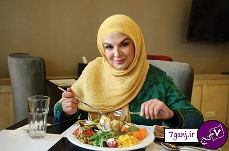 رژیم غذایی شهره سلطانی