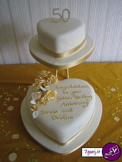 مدل کیک سالگرد ازدواج 2015