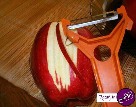 طرز تهیه ۲ مدل ژله مجلسی بسیار شیک با سیب
