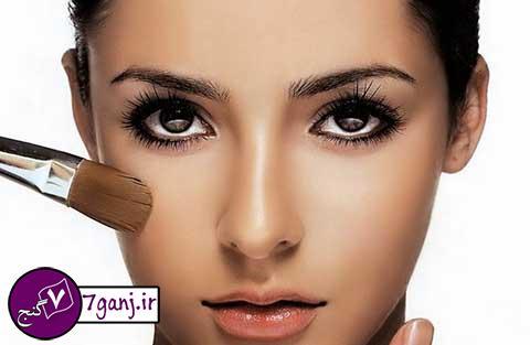ترفندهای آرایش برای پوست های چرب