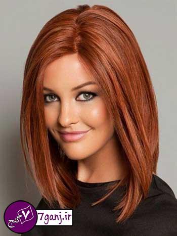 مدل موی زیبایی که به هر چهره ای می آید