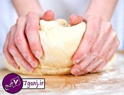 طرز تهیه خمیر پیتزای خانگی   نکات مهم
