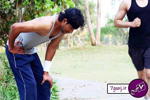 علت درد پهلو هنگام دویدن چیست ؟