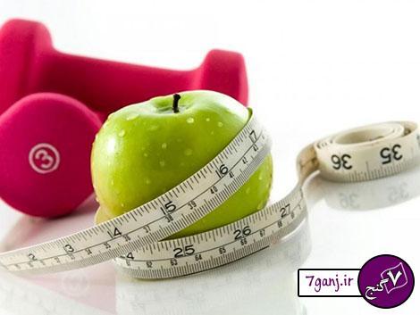 با این رژیم لاغری ، ۷ روزه ۸ کیلو وزن کم کنید
