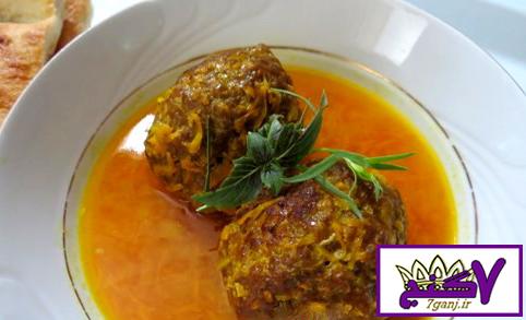 طرز تهیه کوفته هلوی شیرازی ، بسیار خوشمزه و مقوی