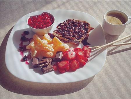 صبحانه خوشمزه