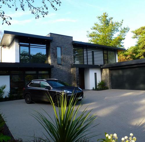 معماری بیرونی خانه های لوکس 2016