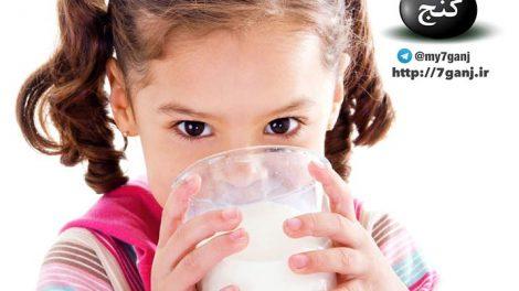 خواص شیر برای کودکان
