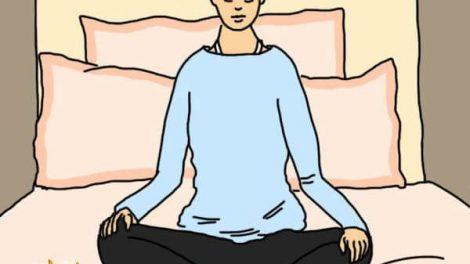 تمرین یوگا برای خواب راحت شبانه