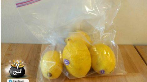 یک ترفند ساده برای تازه نگه داشتن لیمو برای یک ماه