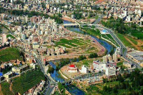 شهر مهاباد کردستان