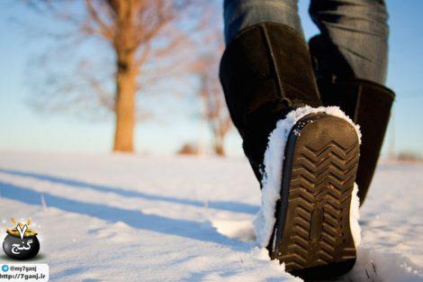 پیاده روی در هوای سرد را برای خود راحت تر کنید