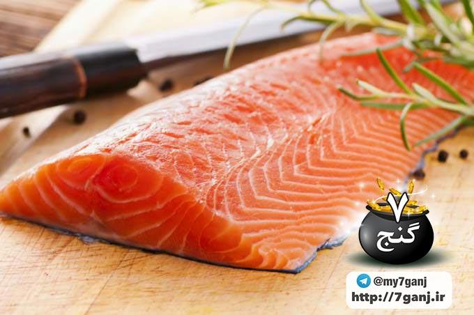فواید و خواص ماهی سالمون