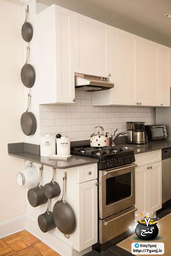 طراحی دکوراسیون آشپزخانه کوچک