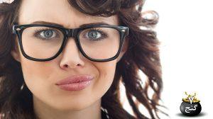 انتخاب قاب عینک
