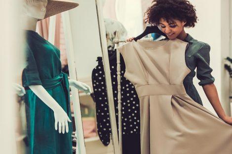 خرید لباس زنانه بر اساس فرم بدن