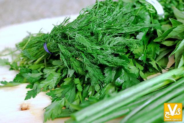 خشك كردن سبزي - 7ganj.ir