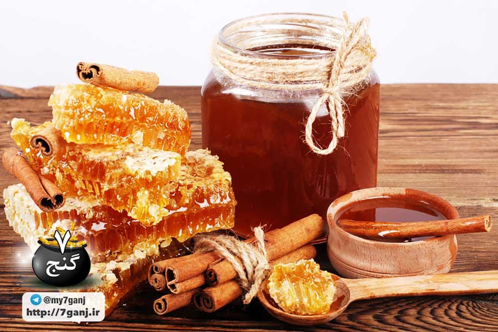 خواص عسل و دارچین