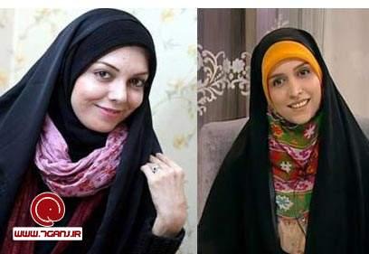 آزاده نامداري و مژده لواساني
