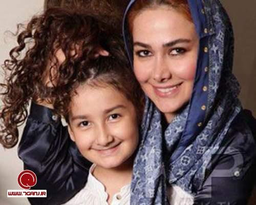 آنا نعمتي و دخترش