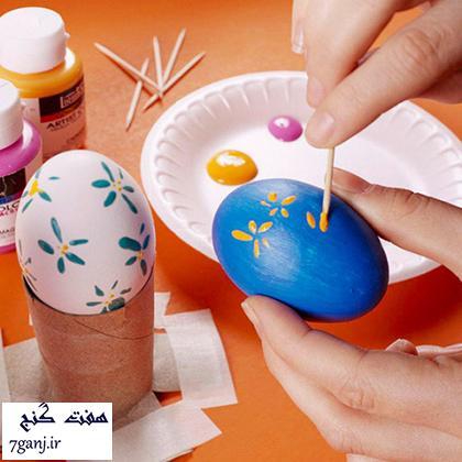 مدل تخم مرغ براي سفره هفت سين