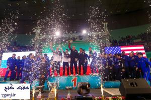 قهرمانی تیم ملی کشتی آزاد