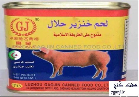 گوشت خوك حلال !