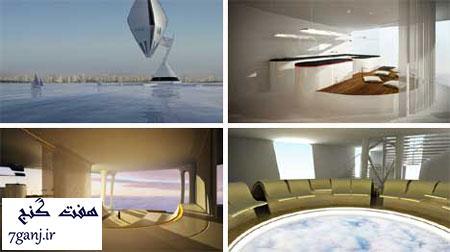 هتل هوایی-برترين هتل هاي شناور جهان