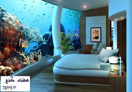 هتل کنراد مالدیو-برترين هتل هاي شناور جهان