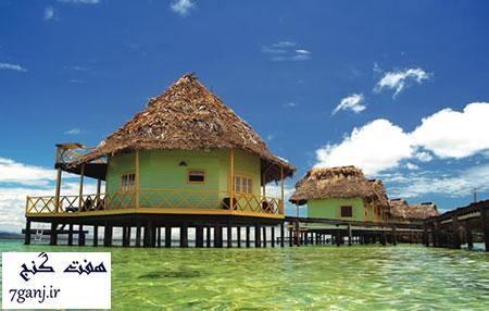 هتل پونتا کاراکول، پاناما - برترين هتل هاي جهان بر روي آب