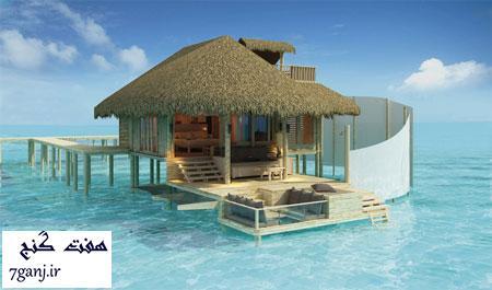 هتل حسهای ششگانه، مالدیو - برترين هتل هاي جهان بر روي آب