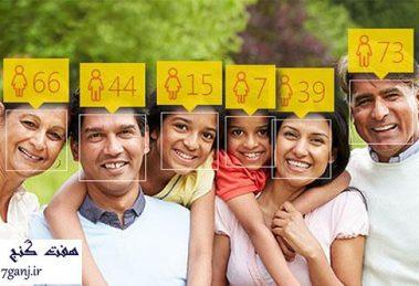 تشخیص سن افراد از روی عکس