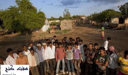 روستاي مجردان در هند
