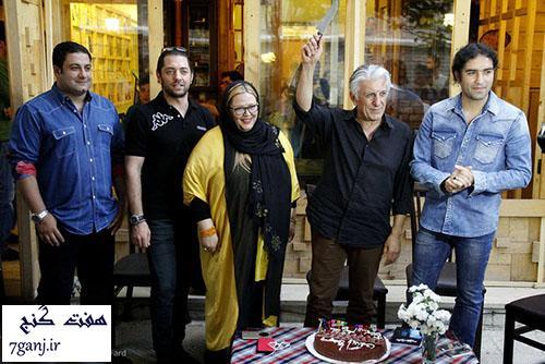 جشن تولد رضا كيانيان