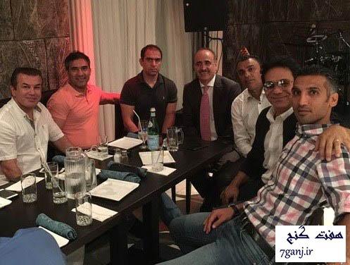 پيشكسوتان فوتبال و خواننده لس انجلسي در كانادا