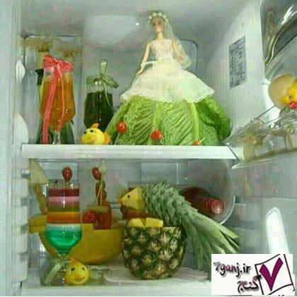 تزيين يخچال عروس