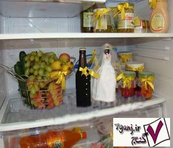 تزئینات یخچال عروس